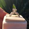 1.59ct Round Brilliant Diamond Ring GIA J SI1 8