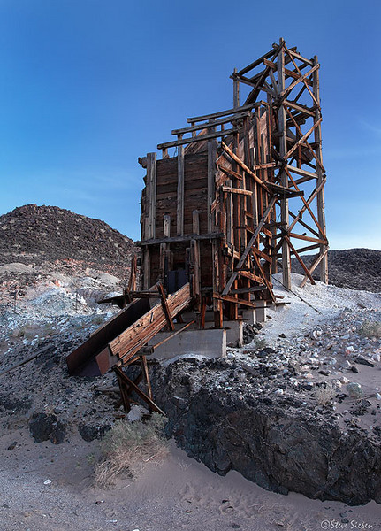 Talc Mine in Death Valley (abandoned)