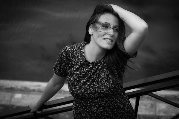 Sandrine Poncet, Un Jour de Juillet 2018, à Paris