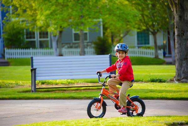 Tom Biking