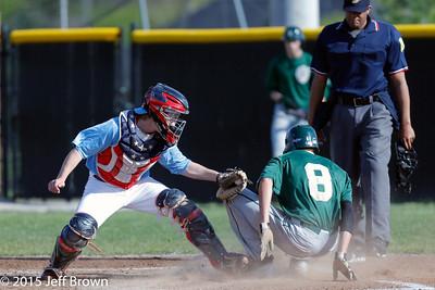 Greenwood vs Plainfield Baseball 4-29-15