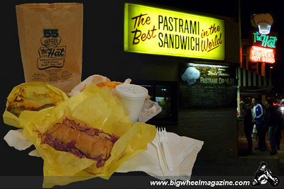 The Hat - World Famous Pastrami - Los Angeles, CA - January 15, 2010