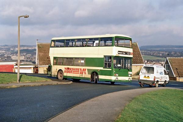 13th February 1992: Huddersfield to Wakefield