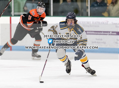 2/14/2018 - Boys Varsity Hockey - Newton North vs Needham