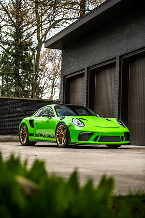 Porsche GT3RS Lizard Green