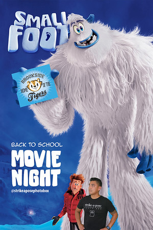 Brookside Elementary Back To School Movie Night 2019