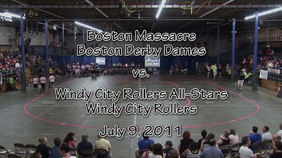 2011-07 Boston Massacre vs. Windy City Rollers All-Stars