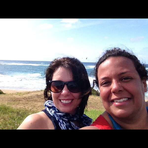 Carol and I on the road to Hana.jpg