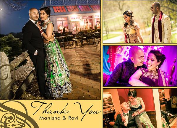 Manisha and Ravi TY Cards