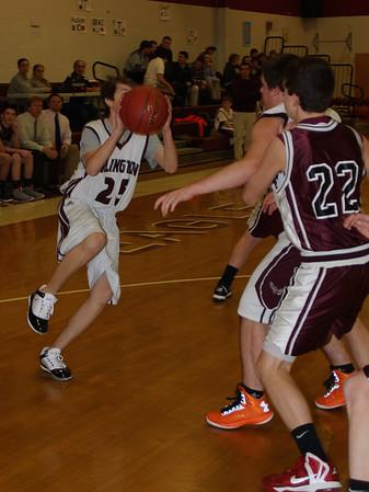 2013 AMHS Boys Basketball vs Proctor photos by Ter