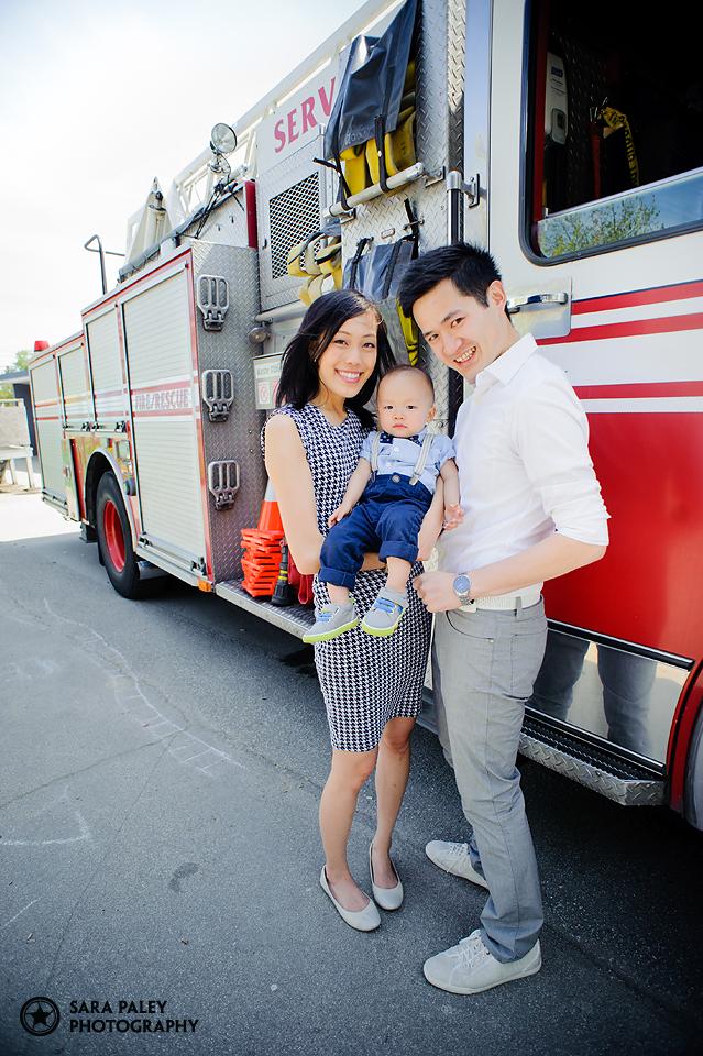 First Birthday Fire Engine