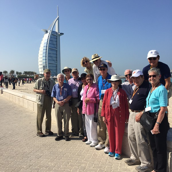 The Princeton group in Dubai - Bridget St. Clair