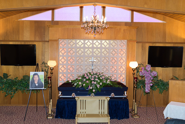 Eva Saavedra Funeral