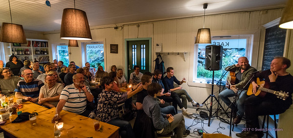 T. Berg and F. W. Olsen concert at Naustvika 15th of july 2017