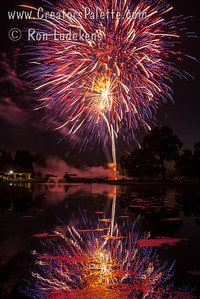 2nd of July Fireworks 2017 at Visalia Country Club