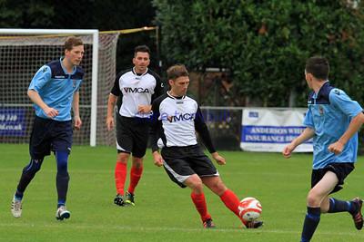 Football YMCA v Hailsham 14 09 13