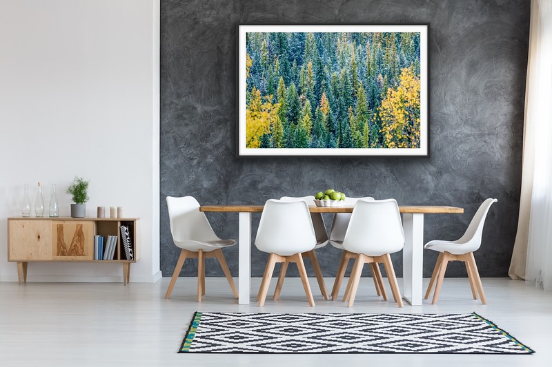 'Autumn Forest' Fine Art Print Framed/Unframed