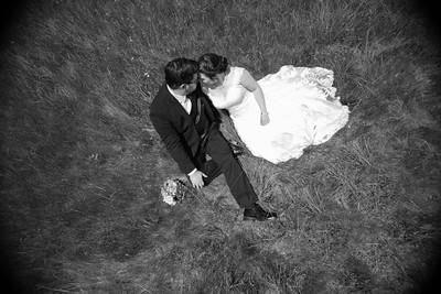 Bride & Groom Portraits- Dana Ouellette & Matt LaMontagne Wedding-The Red Barn At Hampshire College Amherst, MA- New England Connecticut Wedding Photographer