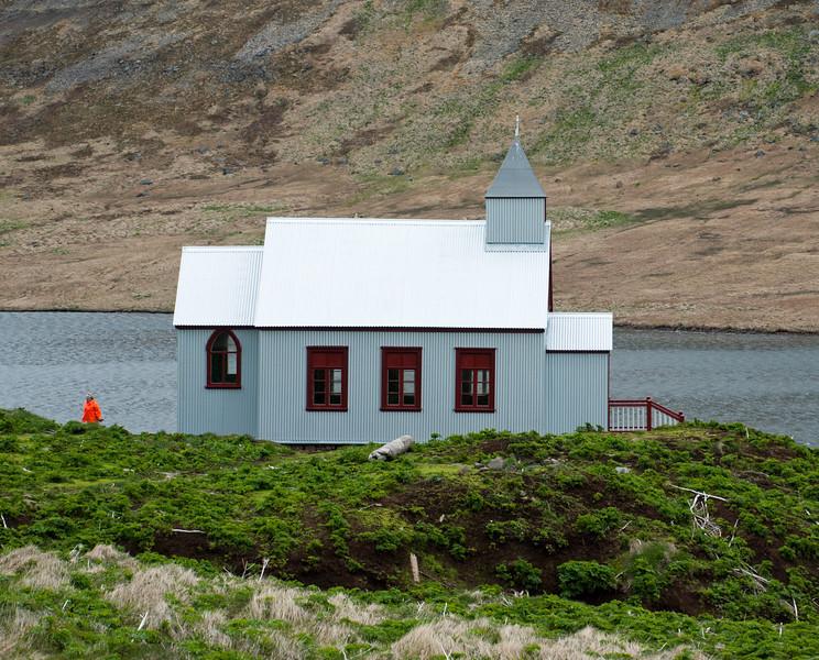 Aðalvík - Staður. Staðarkirkja. 2011. Aðalvíkurkirkja
