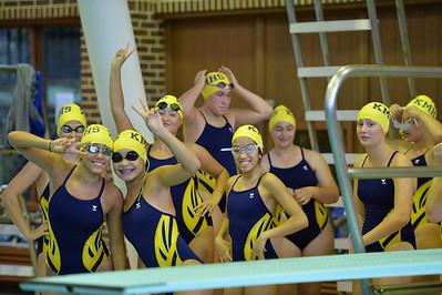 Girls Varsity Swimming –2016