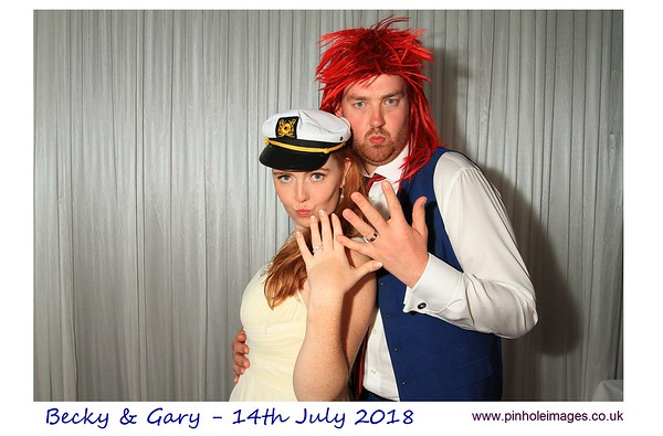 Becky and Gary Photobooth Photos