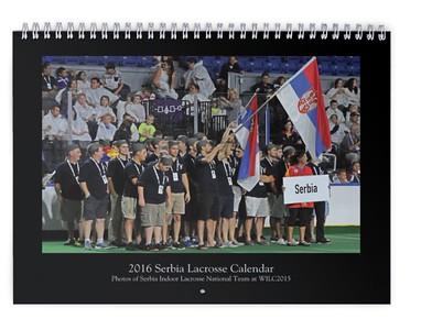 2016 Serbia Lacrosse Calendar (WILC2015)
