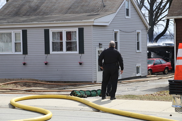 Bensenville Garage fire, 608 Jefferson, 3-12-18