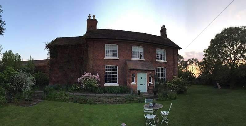 After dinner we returned to the Church Farm Guest House.