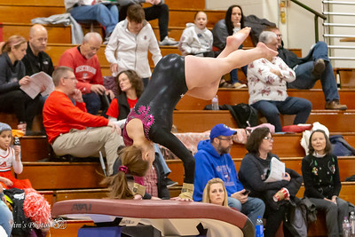 HS Sports - Cougar Gymnastics Invite - Dec 08, 2018