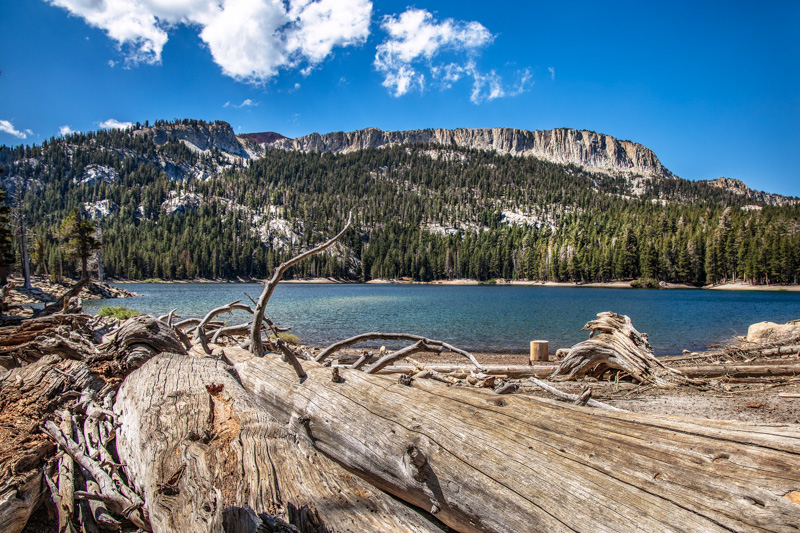 August 28 - Mammoth Crest cresting over Horseshoe Lake, Mammoth Lakes, CA-1.jpg