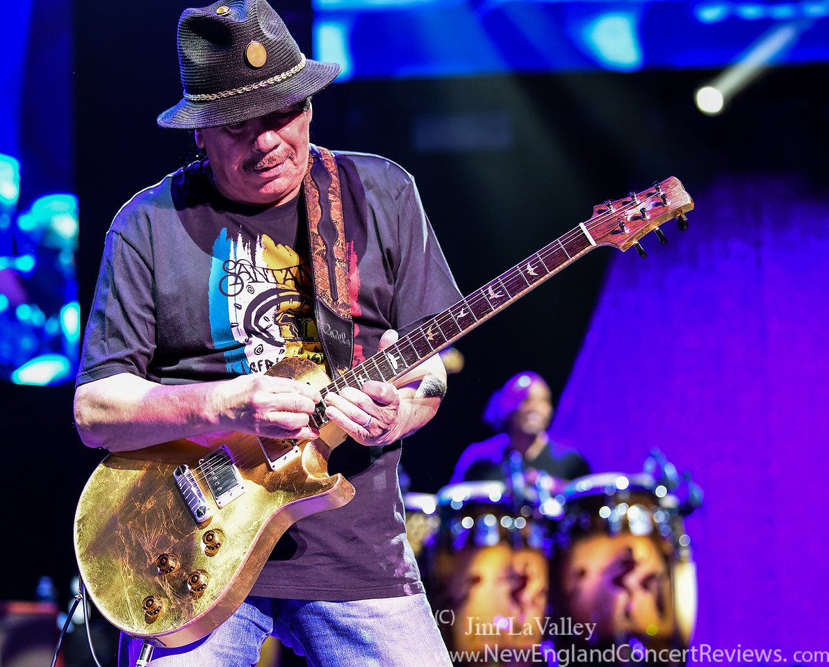 Carlos Santana at the Xfinity Center -MA