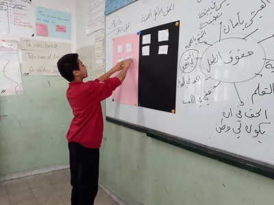 Rawad,  The Special Student in the Learning Support Program