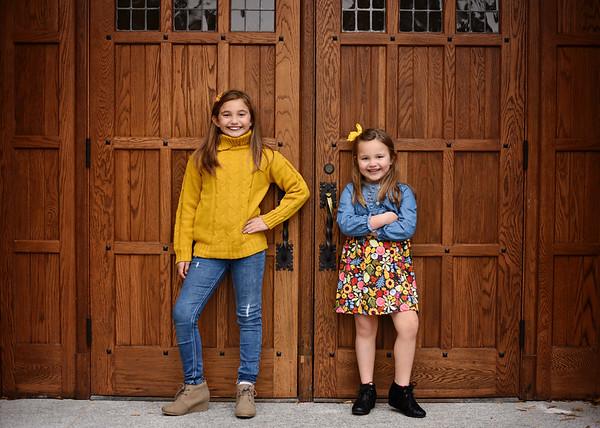 Bayleigh & Finley {holiday mini}