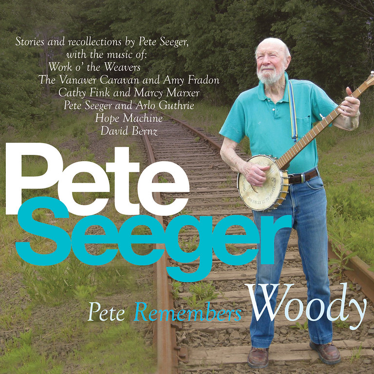 ". This CD cover image released by Appleseed Recordings shows ""Pete Remembers Woody,\"" one of two releases by Pete Seeger.    The American troubadour, folk singer and activist Seeger  died Monday Jan. 27, 2014, at age 94.  (AP Photo/Appleseed Recordings)"