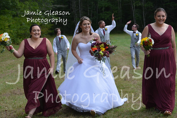 Fun with the Wedding Party