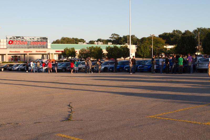 Subaru Meet 9.7.2011 over 50 cars!