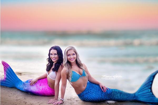 Taelor & Victoria Mermaid Session