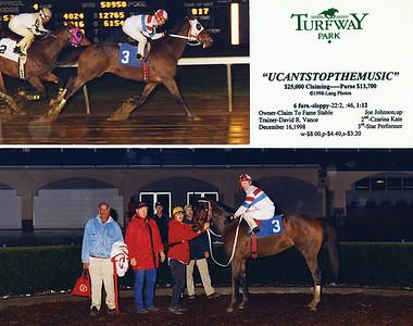 UCANTSTOPTHEMUSIC - 12/16/1998