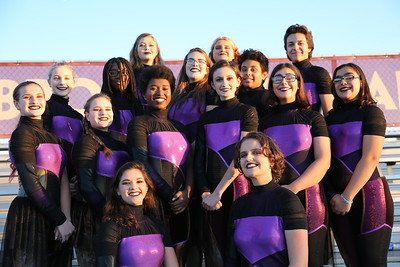2019 Marching Spartans Sectionals Portraits (Glaes)