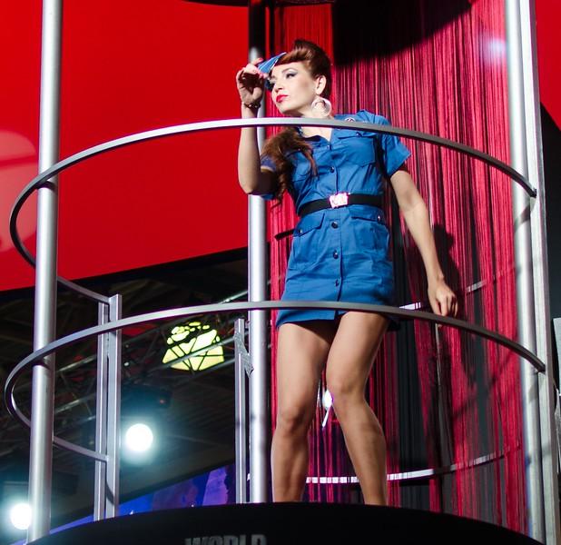 Girl at Igromir 2012