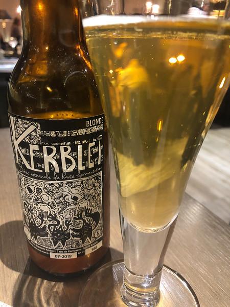 Local Baden beer
