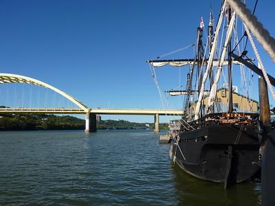 The Columbus Foundation Nina & Pinta Replicas - Newport, KY - 14 Sept. '15
