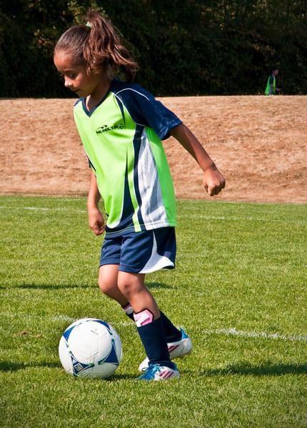 2012.09.16 - Soccer match vs. MU Drury