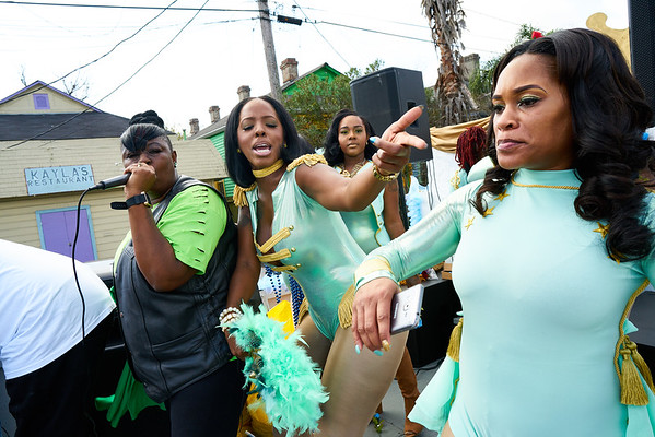 CTC Steppers Second Line Parade - NOLA - 2017