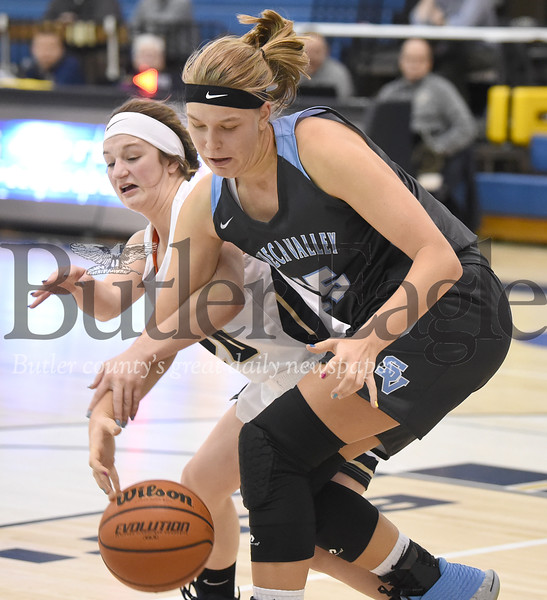 27346 Butler vs Seneca Valley girls basketball game at Butler high School