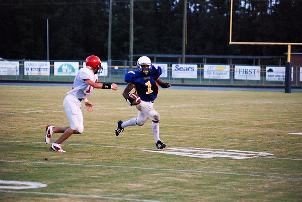 Neal vs Miller Middle School Football 090408