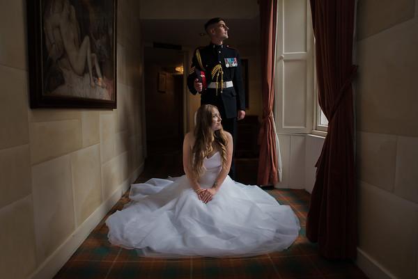 Shannon and John - Fernie Castle