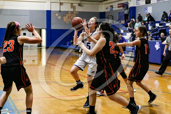 FUHS Girls JV Basketball vs Arcata @ Home 1-29-19