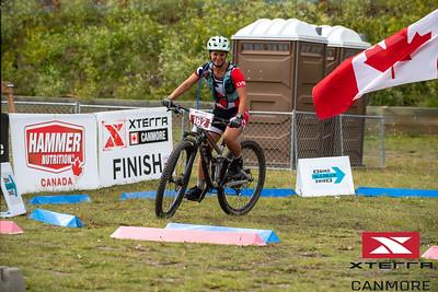2019 Xterra Canmore Bike Lap Flag