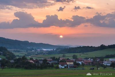 Driving around Lukovica and Moravče - Sep 10, 2016